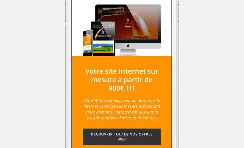 Galerie du projet : Partenariat JCG, Jean-Charles GIEN, création de sites Internet à Mâcon (71) et Lyon (69)
