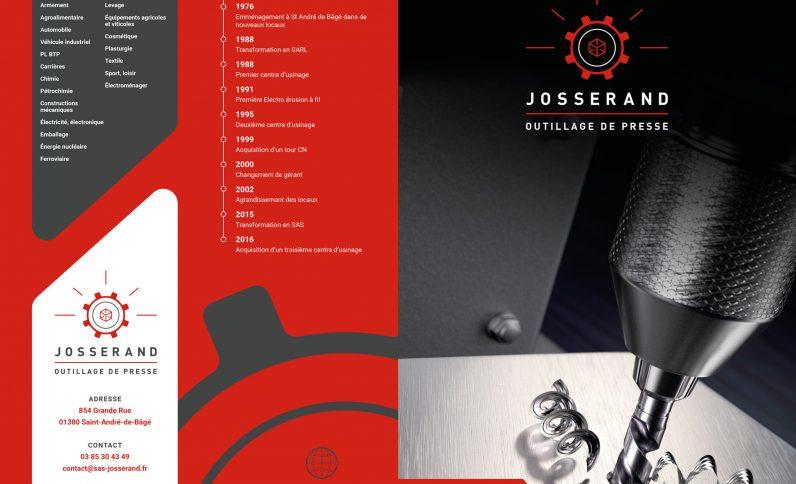 Galerie du projet : Société Josserand, Jean-Charles GIEN, création de sites Internet à Mâcon (71) et Lyon (69)