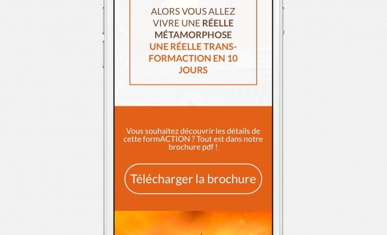 Galerie du projet : Eagle Academy, Jean-Charles GIEN, création de sites Internet à Mâcon (71) et Lyon (69)
