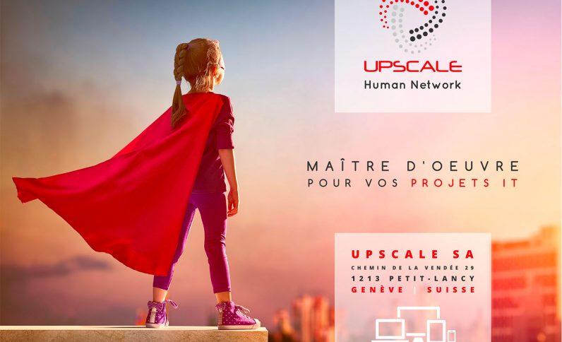 Galerie du projet : Société Upscale, Jean-Charles GIEN, création de sites Internet à Mâcon (71) et Lyon (69)