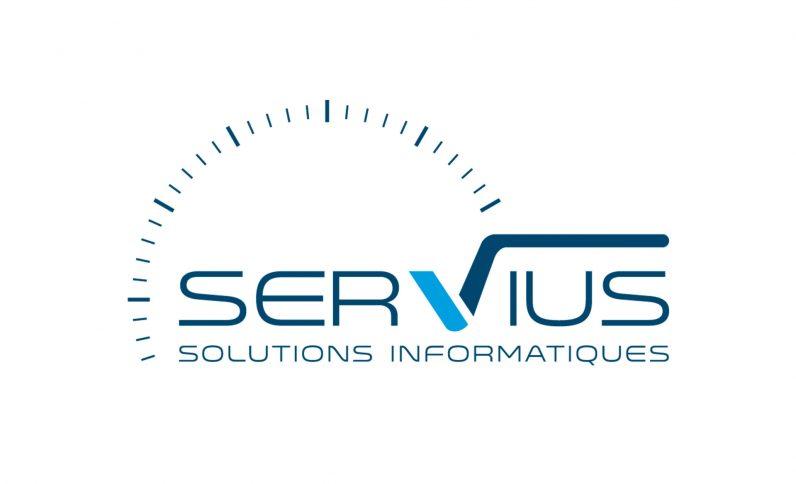 Société Servius, Jean-Charles GIEN, création graphique : identité visuelle, logo, brochure, plaquette à Mâcon (71) et Lyon (69)