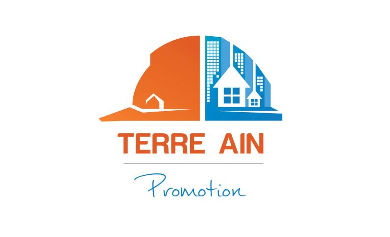 Terre Ain Promotion, Jean-Charles GIEN, création graphique : identité visuelle, logo, brochure, plaquette à Mâcon (71) et Lyon (69)