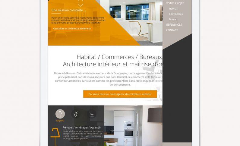 Galerie du projet : Bruno Bini, Jean-Charles GIEN, création de sites Internet à Mâcon (71) et Lyon (69)