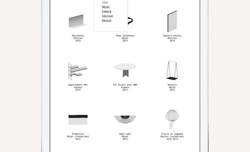 Galerie du projet : Designer L. Oliveres, Jean-Charles GIEN, création de sites Internet à Mâcon (71) et Lyon (69)