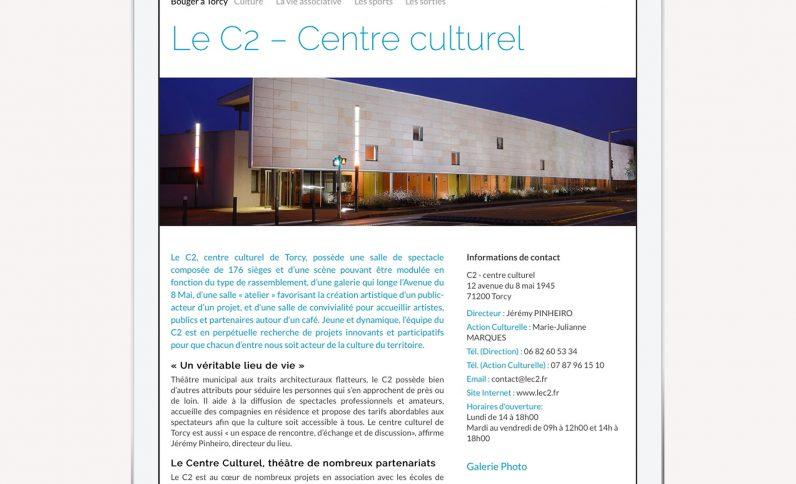 Galerie du projet : Ville de Torcy, Jean-Charles GIEN, création de sites Internet à Mâcon (71) et Lyon (69)