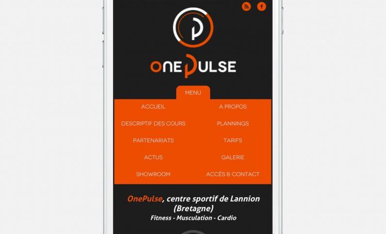 Galerie du projet : OnePulse, Jean-Charles GIEN, création de sites Internet à Mâcon (71) et Lyon (69)