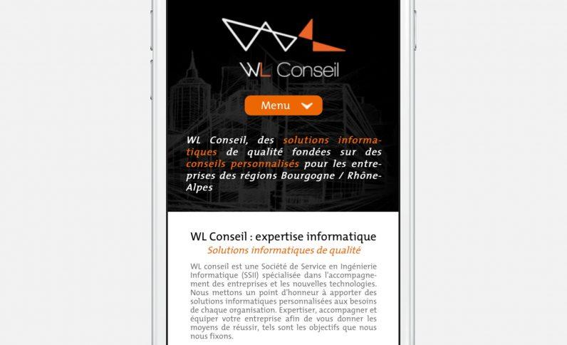 Galerie du projet : WL Conseil, Jean-Charles GIEN, création de sites Internet à Mâcon (71) et Lyon (69)