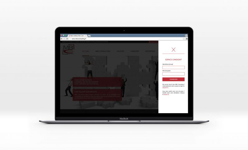 Galerie du projet : MBC Consulting, Jean-Charles GIEN, création de sites Internet à Mâcon (71) et Lyon (69)