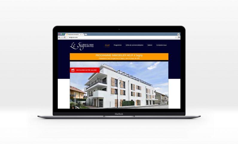 Le Signum Immobilier, Jean-Charles GIEN, création et développement de logiciels et applications de gestion pour les entreprises à Mâcon (71) et Lyon (69)