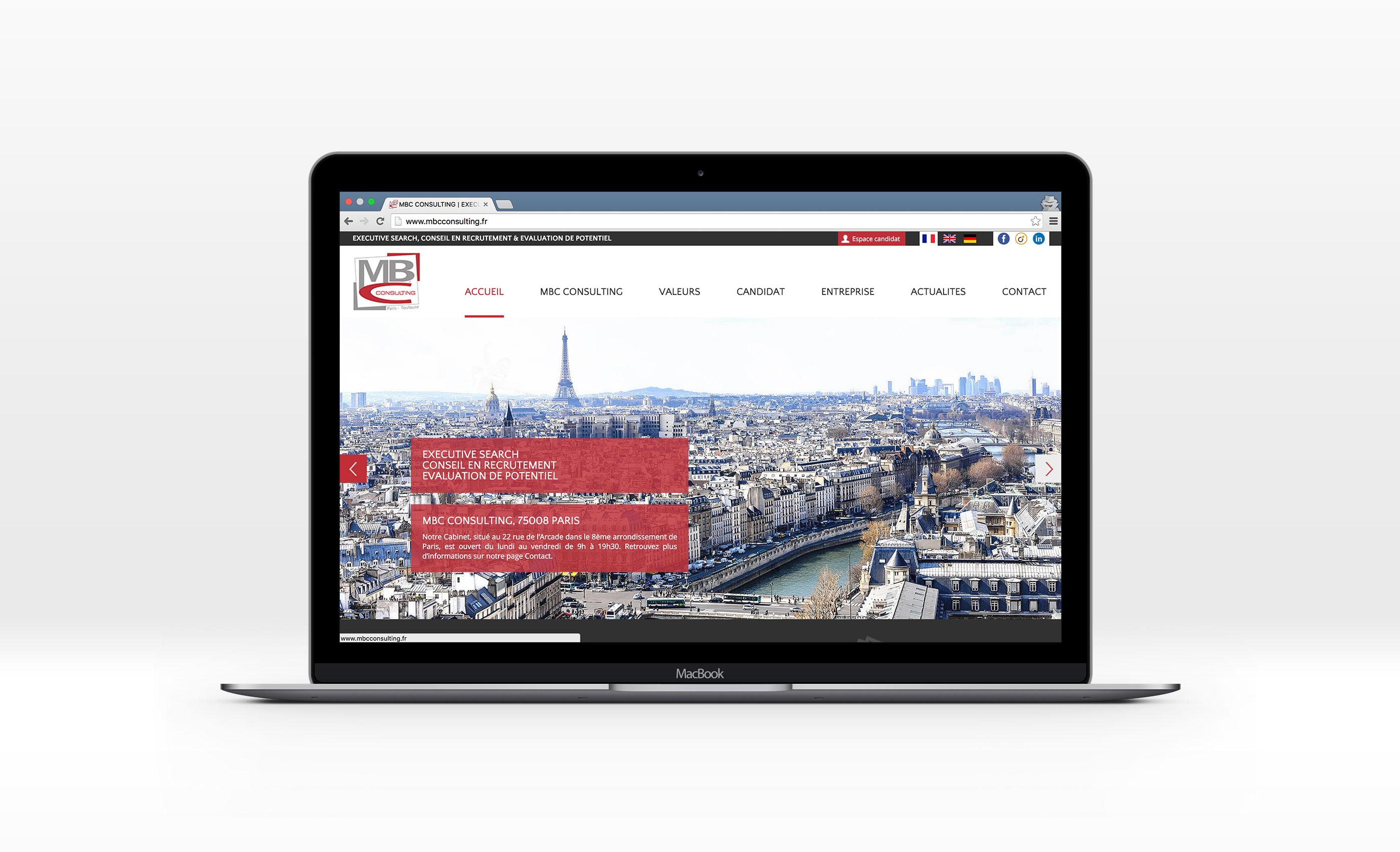 MBC Consulting, Jean-Charles GIEN, création de sites Internet à Mâcon (71) et Lyon (69)