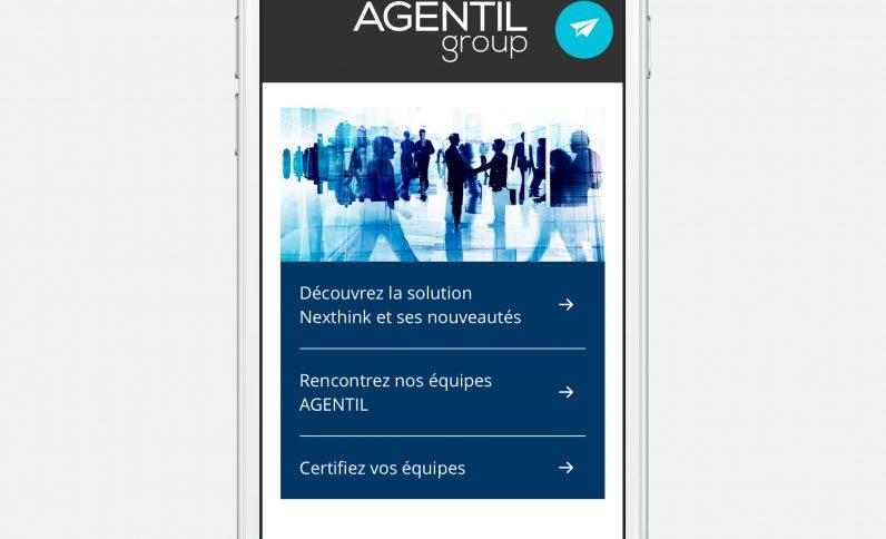 Galerie du projet : Agentil Group Suisse, Jean-Charles GIEN, création de sites Internet à Mâcon (71) et Lyon (69)
