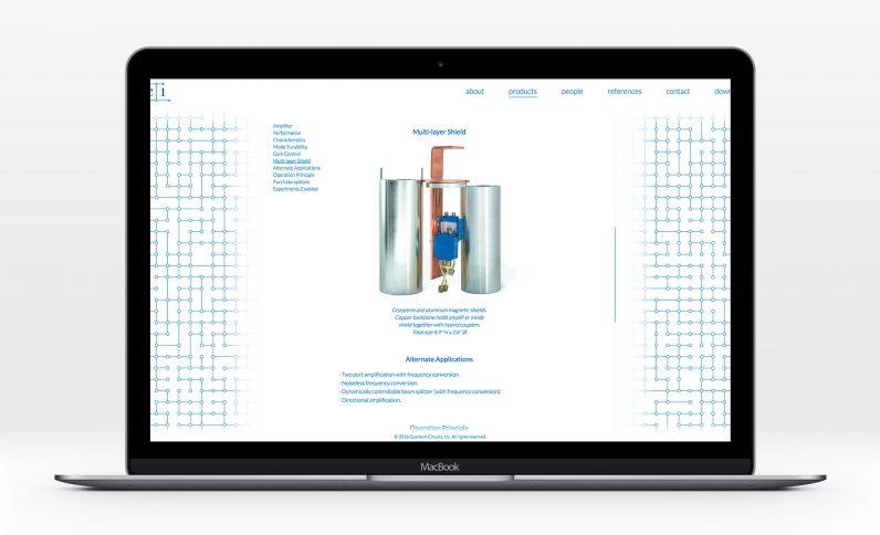 Galerie du projet : Quantum Circuits, Jean-Charles GIEN, création de sites Internet à Mâcon (71) et Lyon (69)