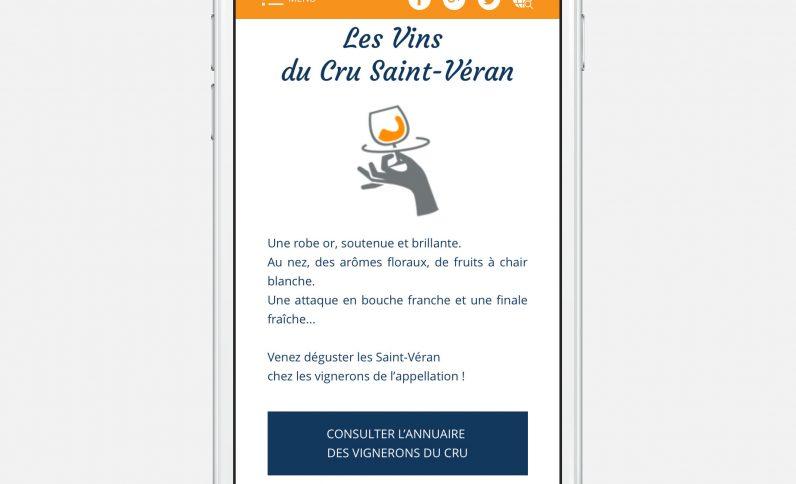 Galerie du projet : Saint-Véran, Jean-Charles GIEN, création de sites Internet à Mâcon (71) et Lyon (69)