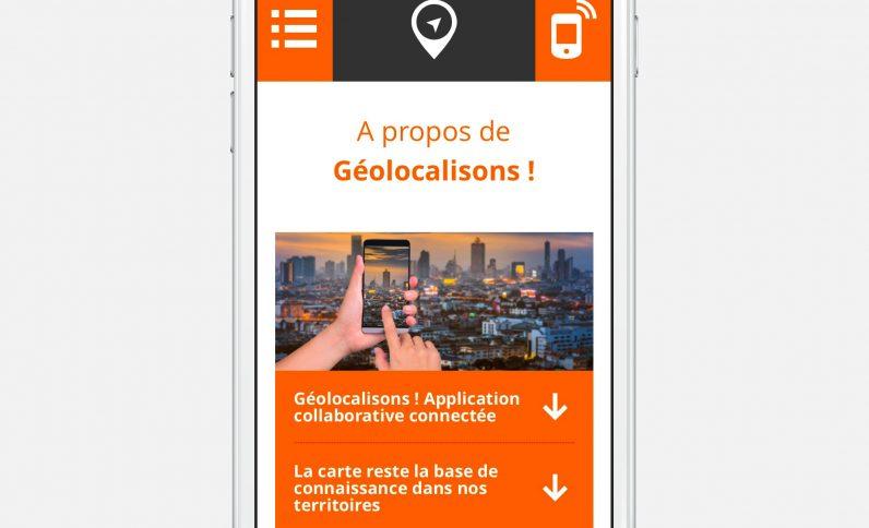 Galerie du projet : Géolocalisons!, Jean-Charles GIEN, création de sites Internet à Mâcon (71) et Lyon (69)