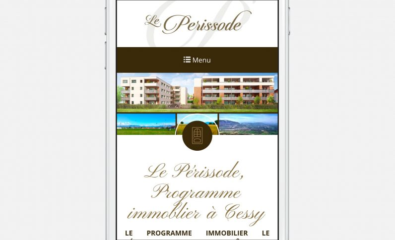 Galerie du projet : Le Perissode, Jean-Charles GIEN, création de sites Internet à Mâcon (71) et Lyon (69)