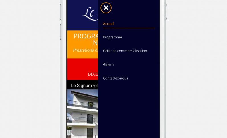 Galerie du projet : Le Signum Immobilier, Jean-Charles GIEN, création de sites Internet à Mâcon (71) et Lyon (69)