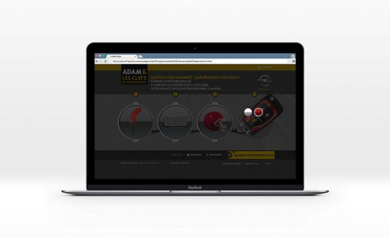Galerie du projet : Opel, Jean-Charles GIEN, création de sites Internet à Mâcon (71) et Lyon (69)