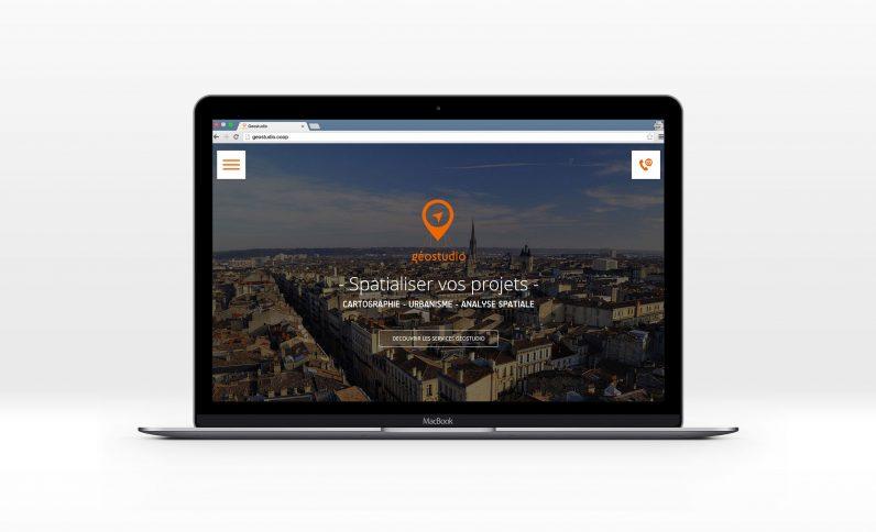 Galerie du projet : Géostudio, Jean-Charles GIEN, création de sites Internet à Mâcon (71) et Lyon (69)