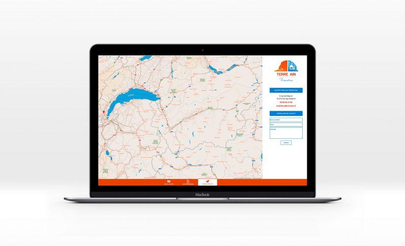 Terre Ain Promotion, Jean-Charles GIEN, création de sites Internet à Mâcon (71) et Lyon (69)