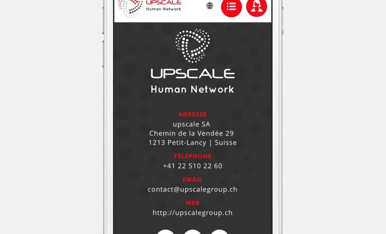 Galerie du projet : Upscale Group, Jean-Charles GIEN, création de sites Internet à Mâcon (71) et Lyon (69)